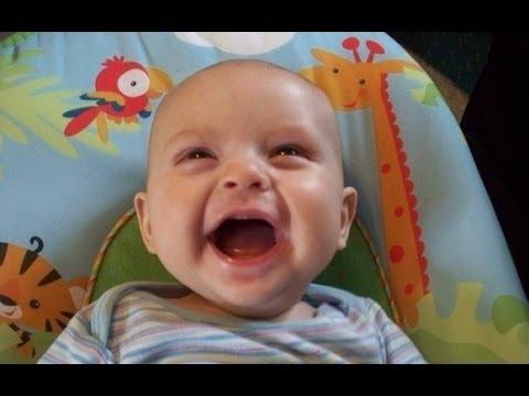 Compilation de fou rires de bébés trop drôle